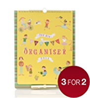 Illustrated 2014 Family Organiser