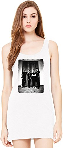 Billy Talent Tunica Smanicata Bella Basic Sleeveless Tunic Tank Dress For Women| 100% Premium Cotton| Medium