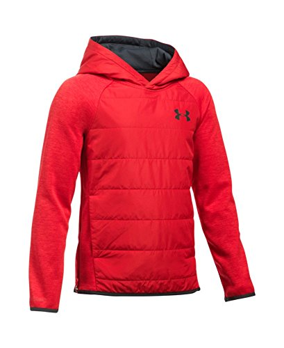Under Armour Boys' Storm Swacket, Red (600), Youth Large