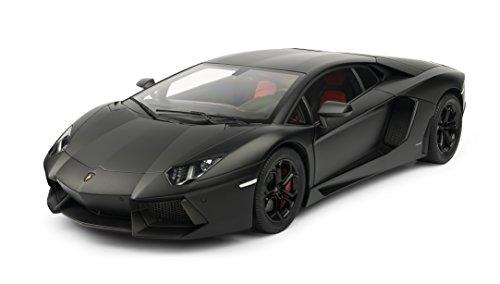 Pocher - Phk102 - Automodellismo, Lamborghini Aventador, colore: Nero opaco- Scala: 1:8