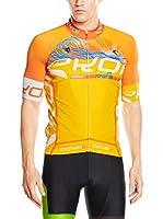 JOLLYWEAR Maillot Ciclismo Summer (Naranja)