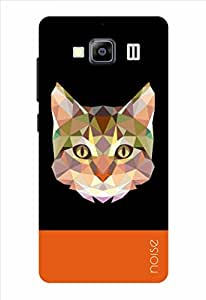 Noise Crystal Cat-Black Printed Cover for Xiaomi Redmi 2 Prime / Redmi 2S