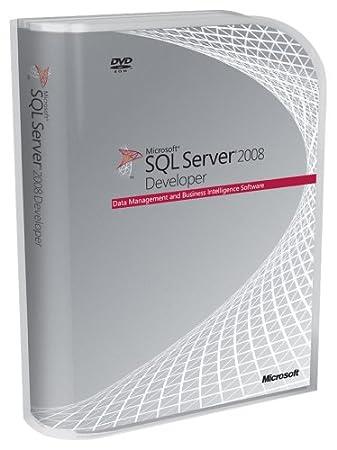 Microsoft SQL Svr Developer Edtn 2008 English DVD (PC)