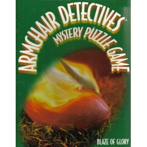 Armchair Detectives Mystery Puzzle Game - Blaze of Glory