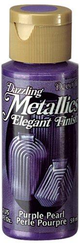 DecoArt Dazzling Metallics 2-Ounce Purple Pearl Acrylic Paint