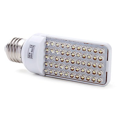 E27 55-Led 150-200Lm White Light Bulb (220-240V, 2.5-3W)