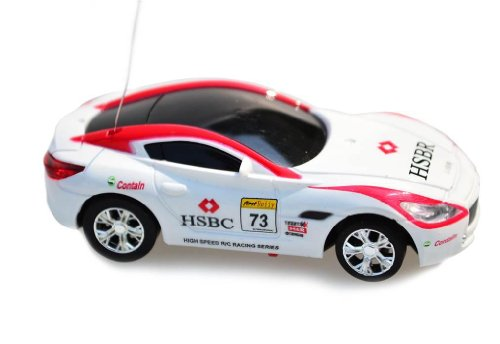 My Funky Planet Toyatar - 1:67 - RC Mini Racing Car, White/Red