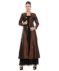 D&S Women Silk Long Jacket