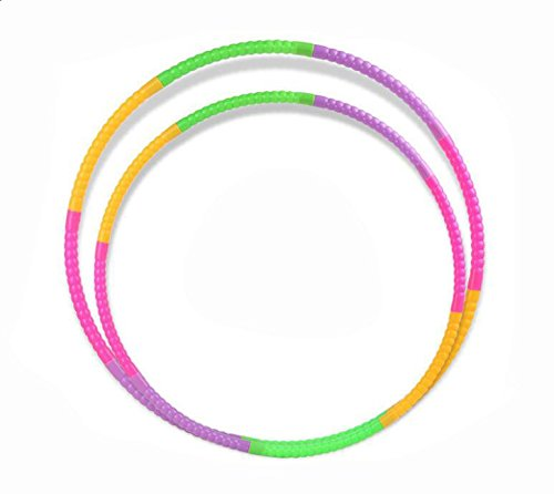 Children Hula Hoop for Fitness, 7 & 8 segmented, Workout for Kids, Exercise Dancing Games (60CM)