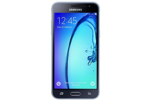 "Samsung Galaxy J3 Smartphone da 5"", 8 GB, Nero [Italia]"