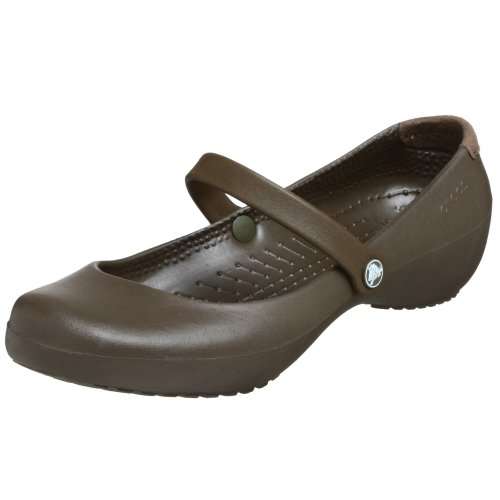 Crocs  Patricia Women,  Sabot/sandali donna, Marrone (Chocolat), 39.5