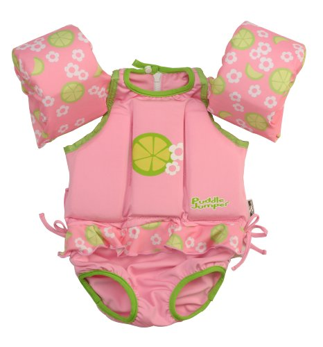 Stearns Girls Puddle Jumper Flotation Suit,Lime