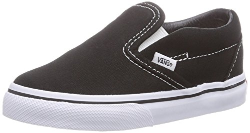 Vans Unisex Child Classic Slip On - Black - 6