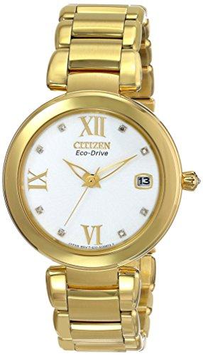 Citizen Women's EO1112-58A Marne Analog Display Japanese Quartz Gold Watch