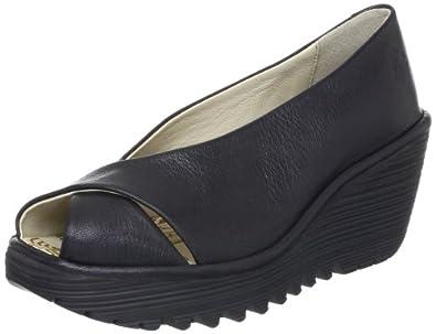Fly London Yaff, Chaussures montantes femme - Noir (007 Black), 36 EU