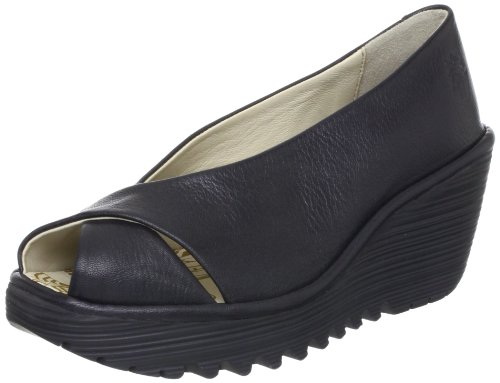 Fly London Women's Yaff Black Comfort P500392007 4 UK