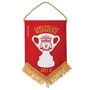 Carling Cup Winners Mini Pennant from Liverpool FC