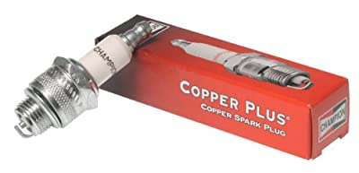 Champion Copper Plus Small Engine Spark Plug, Stk No. 868, Plug Type No.RJ19LM (Pack of 1)