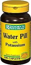 Good N Natural  Water Pill Natural Diuretic with Potassium