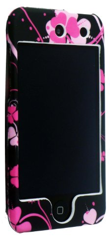 FOR APPLE IPOD TOUCH 4 4TH GEN STYLISH FLOWER FRONT AND BACK PROTECTION HARD CASE COVER