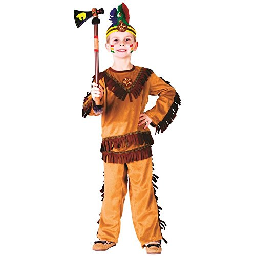 Indian Warrior Boy Toddler Costume