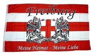 Fahne / Flagge Fußball Freiburg NEU 90 x 150 cm