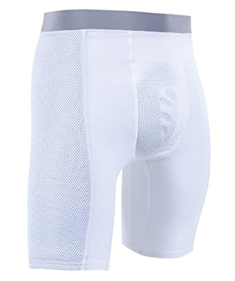 Russell Athletic Mens Padded Sliding Short by Russell Athletic