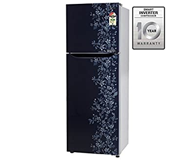 LG GL-B282SMPM Frost-free Double-door Refrigerator (255 Ltrs, 3 Star Rating, Blue)