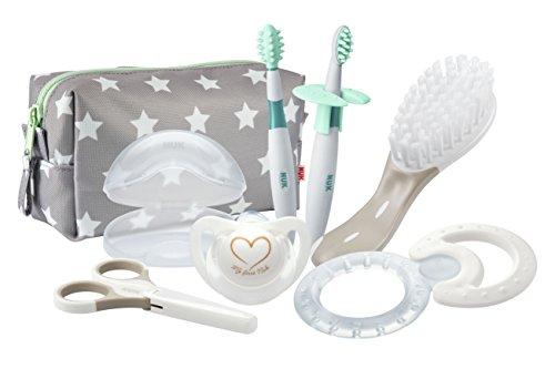 NUK Pflege-Set für Neugeborene, beige/weiß -