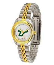 South Florida Bulls USF NCAA Womens 23Kt Gold Watch