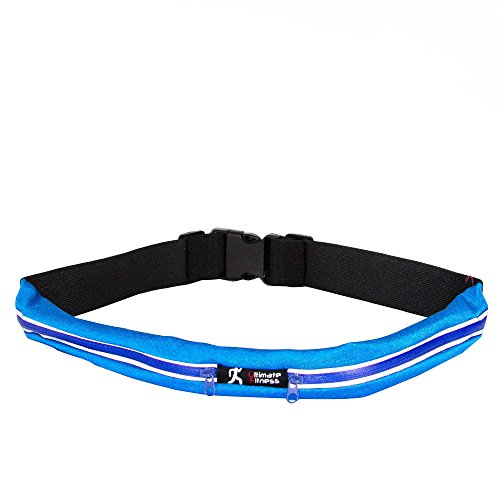 Acxeon-superior-Wasser-resistant-Lauf-Grtel-Exercise-Runner-Belts-Taille-Packs-mit-2-Tasches-fr-Apple-iPhone-6-6-plus-5-5-s-5c-Samsung-Galaxy-fr-Mnner-Frauen-whrend-des-Trainings-Radfahren-Wandern-Geh