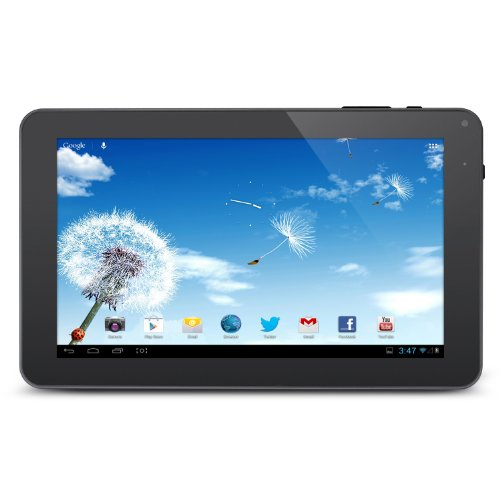 "Alldaymall® 9"" Inch Android 4.4 Kitkat Tablet Pc Mid (A23 Processor, Dual Core 1.5Ghz, Wifi, 8Gb, 512Ddr3, Dual Camera, Supports Skype Video Chatting, Youtube, Google Play)"