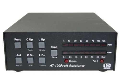 Lowest Price! LDG Electronics AT-100PROII Automatic Antenna Tuner 1.8-54 MHz, 1-125 Watts, Updated f...
