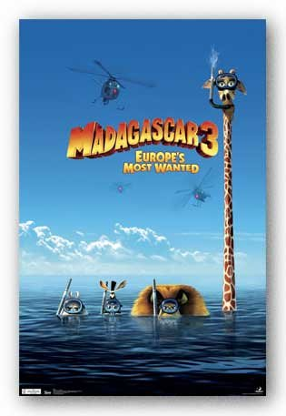 Madagascar 3 - Europe's Most Wanted - Movie Poster 22