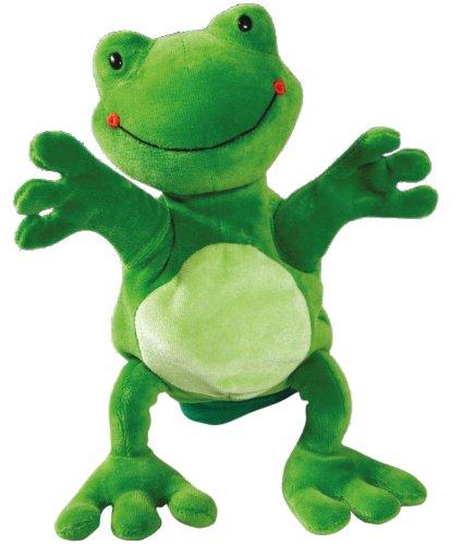 Color Hape Hand Glove Puppet Frog Multi Color