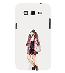 EPICCASE Fashion Girl Mobile Back Case Cover For Samsung Galaxy Grand Max (Designer Case)