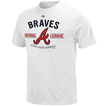 MLB Majestic Atlanta Braves Added Value T-Shirt - White by Majestic