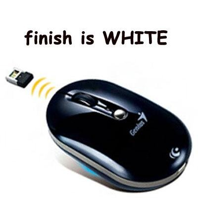 NX ECO Battery Free mouse WHT