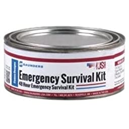 US-Works Saunders Emergency Survival Kit, 26-Pieces, Serves up to 1 Person (67101)