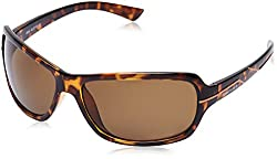 Fastrack UV Protected Wrap-Around Men's Sunglasses (P321GR3|62|Brown)