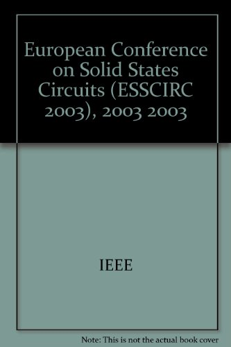 European Conference on Solid States Circuits (ESSCIRC 2003), 2003 2003