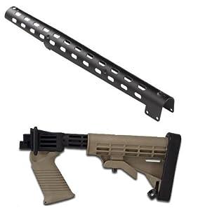 Tapco STK07160 Saiga T6 Buttstock FDE Flat Dark Earth Saiga 12 Gauge Shotgun... by Tapco