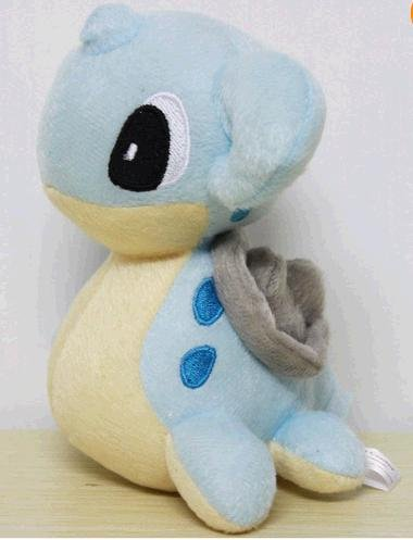 "Pokémon Pokemon Plush Lapars Doll Around 15cm 6"" Blue, Free - 1"