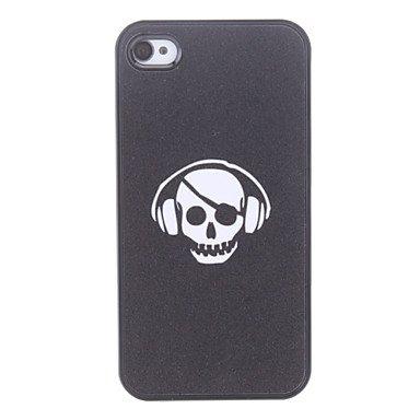 Earphone Pattern Hard Case For Iphone 4/4S