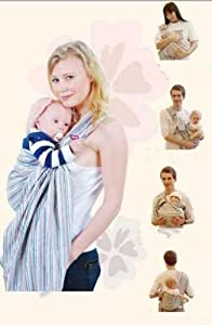 VRbabies 3 in 1 Cotton Baby Sling / Baby Carrier by VRbabies
