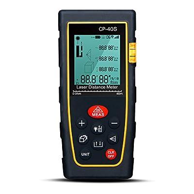 Padgene® Digital Laser IR Infrared Distance Meter 40-100 Meters Range Finder Measure Tape Diastimeter