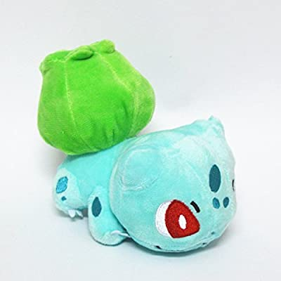 Generic Mega Bulbasaur Charmander Squirtle Plush Toys Stuffed Doll Set With Badges from Generic