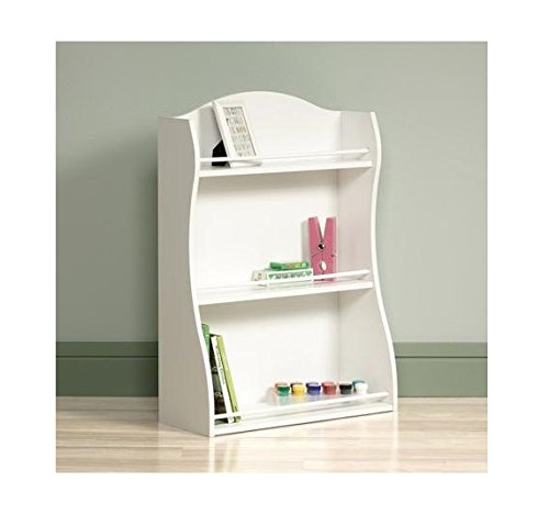 cheap cottage style 3 shelf bookcase white bookshelf. Black Bedroom Furniture Sets. Home Design Ideas