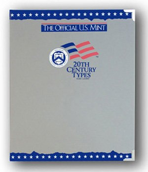 The Official US Mint / Coin Album 20th Century Types - By Whitman