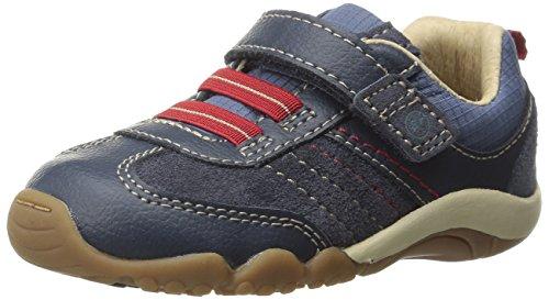Stride Rite SRT Prescott Sneaker (Toddler),Blue,8 W US Toddler